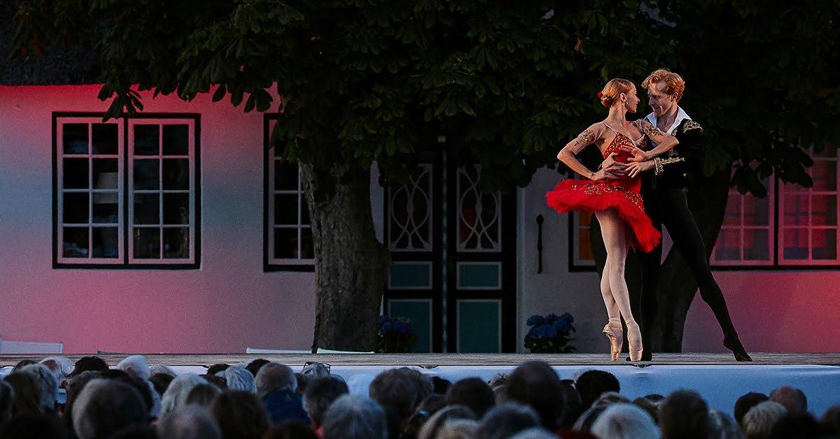 Iana Salenko & Steven McRae ved Benen-Diken-Hof, 2017
