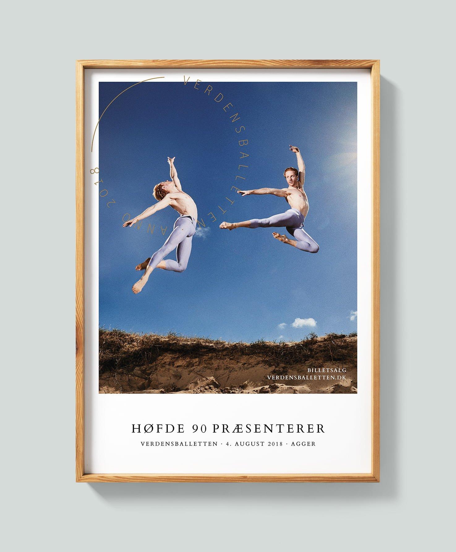 Verdensballetten_mockup poster_Agger 2018 wood